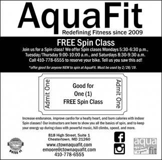 Free Spin Class