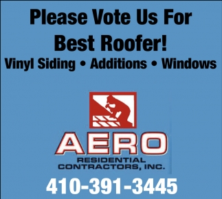 Please Vote Us for Best Roofer
