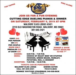 Join Us for a Fun Evening