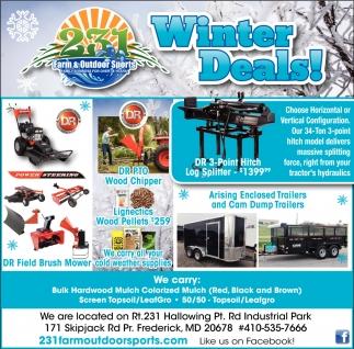 Winter Deals!