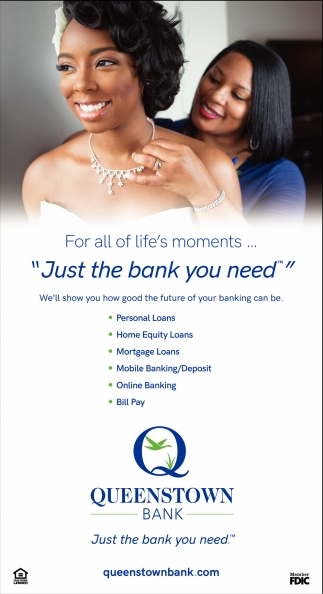 Just the Bank You Need