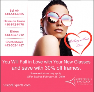 You Will Fall in Love with Your New Glasses