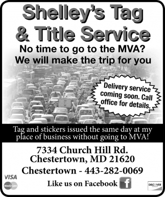 No time to go to the MVA?