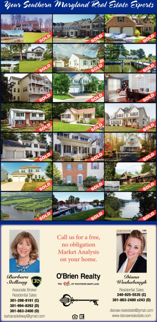 You'r Southern Maryland Real Estate Experts