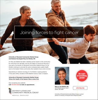 Joining Forces to Fight Cancer