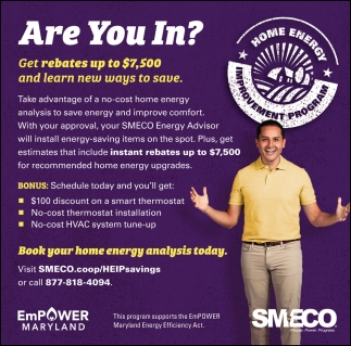 Book Your Home Energy Analysis Today