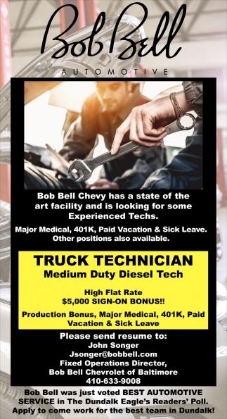 Truck Technician