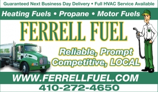 Heating Fuels
