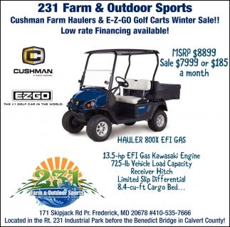 231 Farm & Outdoor Sports