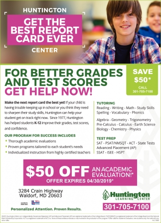 Get the Best Report Card Ever