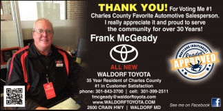 Frank McGeady
