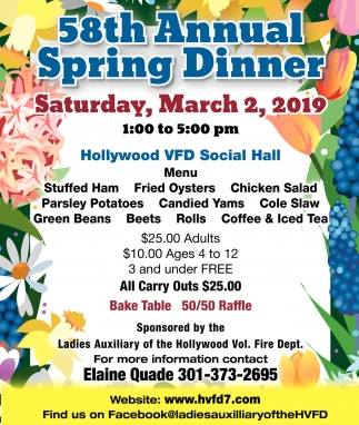 58th Annual Spring Dinner
