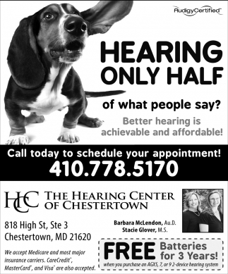 Hearing Only Half