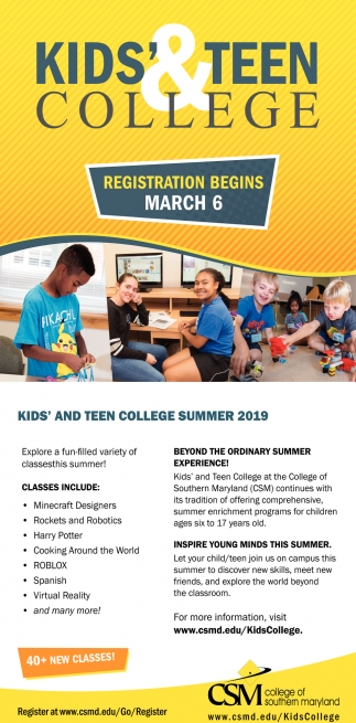 Kids' & Teen College