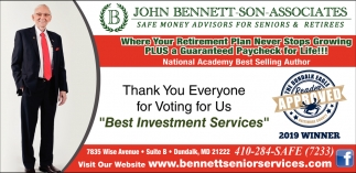 Best Investment Services