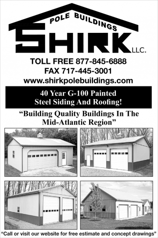 40 Year G-100 Painted Steel Siding and Roofing