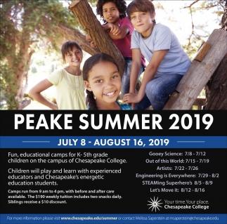 Peake Summer 2019