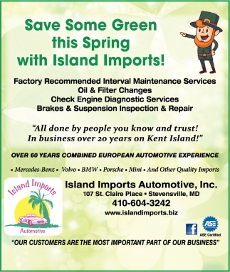 Save Some Green this Spring with Island Imports!