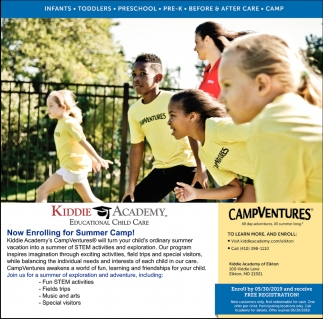 Now Enrolling for Summer Camp!