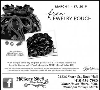 Free Jewelry Pouch
