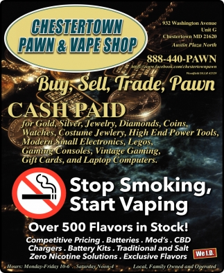 Stop Smoking, Start Vaping