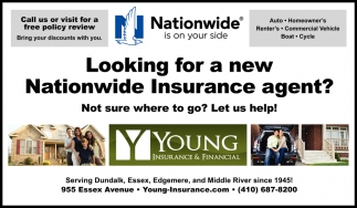 Looking for a New Nationwide Insurance Agent?