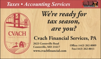 We're Ready for Tax Season, Are You?