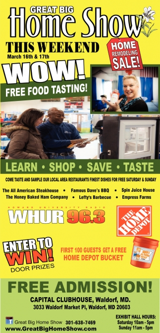 Home Remodeling Sale Great Big Home Show Waldorf Md