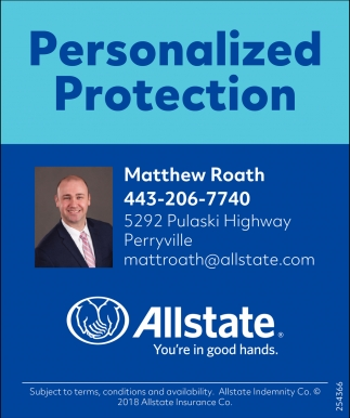Personalized Protection