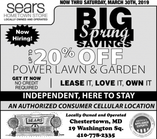 Big Spring Savings