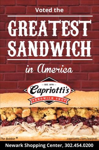 Greatest Sandwich