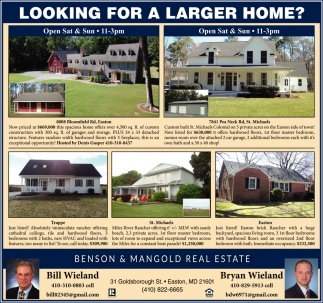 Looking for a Larger Home?