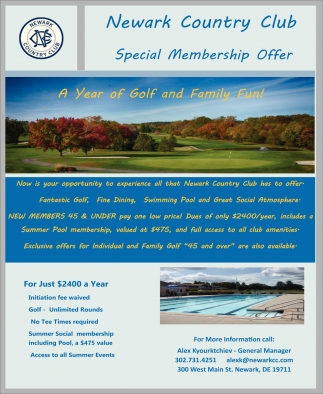 Special Membership Offer
