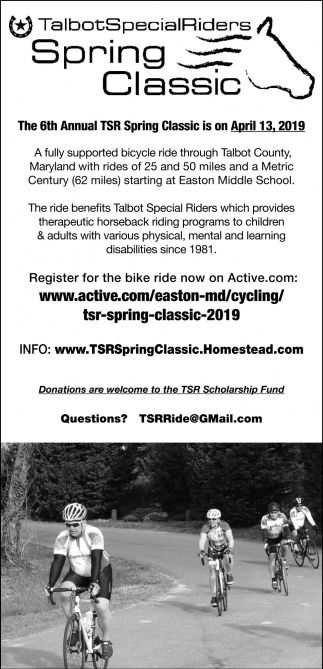 6th Annual TSR Spring Classic