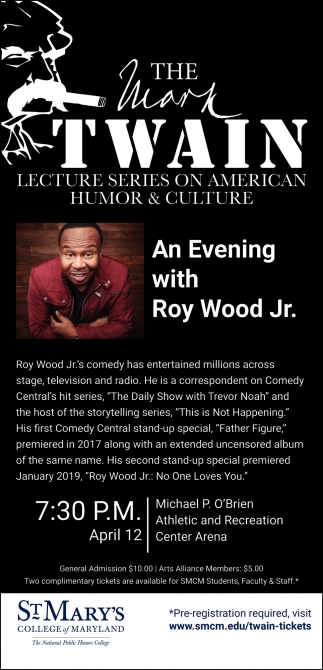 An Evening with Roy Wood Jr