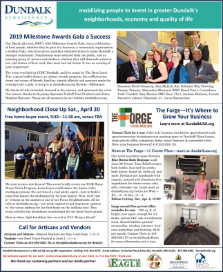 2019 Milestone Awards Gala a Success