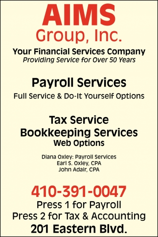 Tax Services Bookkeeping Services