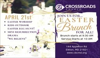Join Us for... Easter Brunch for All!