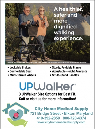 A Healthier, Safer and More Dignified Walking Experience