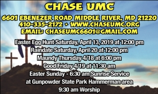 Easter Egg Hunt Saturday