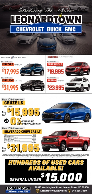 Hundreds of Used Cars Available