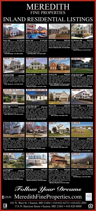 Inland Residential Listings