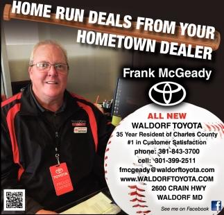 Home Run Deals From Your Hometown Dealer