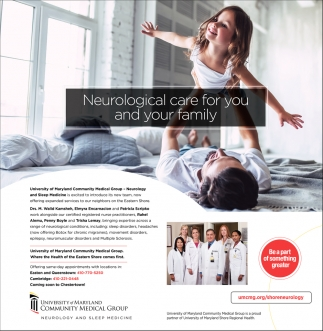 Neurological Care for You and Your Family