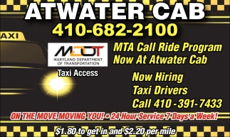 Now Hiring Taxi Drivers