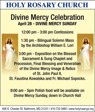 Divine Mercy Celebration