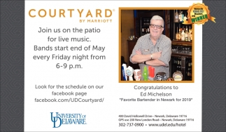 Join Us on The Patio for Live Music