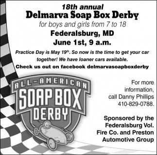 18th Annual Delmarva Soap Box Derby