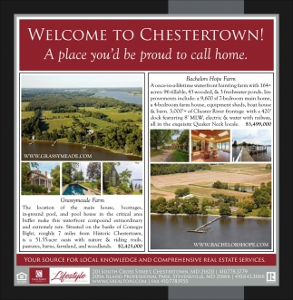 Welcome to Chestertown