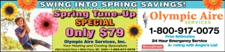 Spring Tune-Up